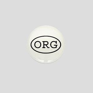 ORG Oval Mini Button