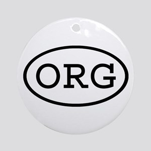 ORG Oval Ornament (Round)