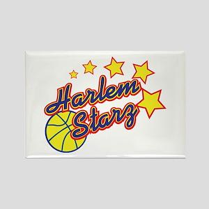 The Harlem Starz Rectangle Magnet