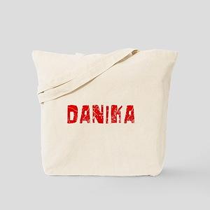 Danika Faded (Red) Tote Bag