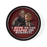 Obama Hopes to Change Wall Clock