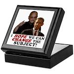 Obama Hopes to Change Keepsake Box