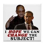Obama Hopes to Change Tile Coaster