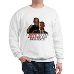 Obama Hopes to Change Sweatshirt