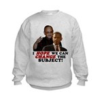 Obama Hopes to Change Kids Sweatshirt