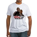 Obama Hopes to Change Fitted T-Shirt