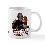 Obama Hopes to Change Mug