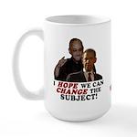 Obama Hopes to Change Large Mug
