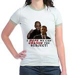 Obama Hopes to Change Jr. Ringer T-Shirt