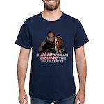 Obama Hopes to Change Dark T-Shirt