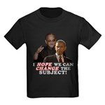 Obama Hopes to Change Kids Dark T-Shirt