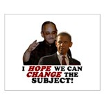 Obama Hopes to Change Small Poster