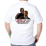 Obama Hopes to Change Golf Shirt