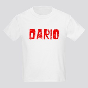 Dario Faded (Red) Kids Light T-Shirt