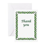 Simple, elegant thank you cards. Boxed, envelopes.