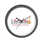 Love Aflame! Wall Clock