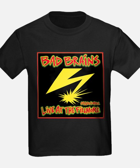 Bad Brains Live at the Fillmore Albu T-Shirt
