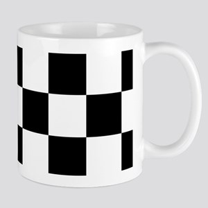 checker board Stainless Steel Travel Mugs