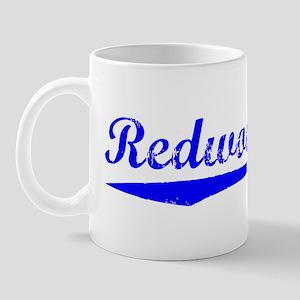 Vintage Redwood City (Blue) Mug