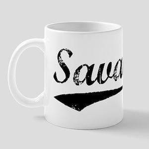 Vintage Savage (Black) Mug