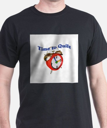 Time To Quilt - Quilter's Clo T-Shirt
