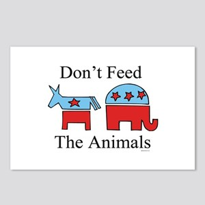 Don't feed the animals ~  Postcards (Package of 8)