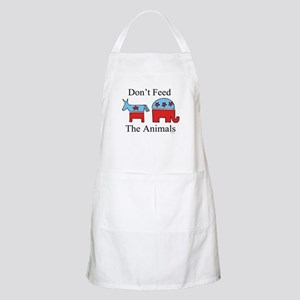 Don't feed the animals ~  BBQ Apron