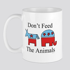 Don't feed the animals ~  Mug