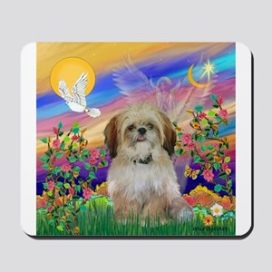 Guardian Angel & Shih Tzu Mousepad