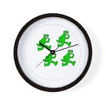 Lizard man- the clock.