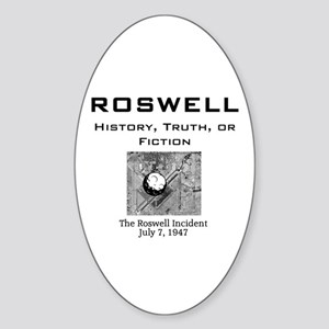 ABH Roswell Oval Sticker