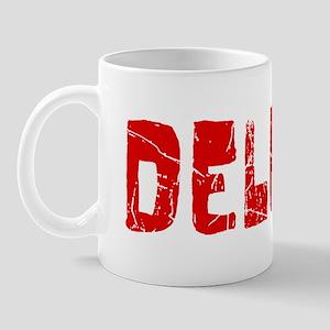 Deleon Faded (Red) Mug