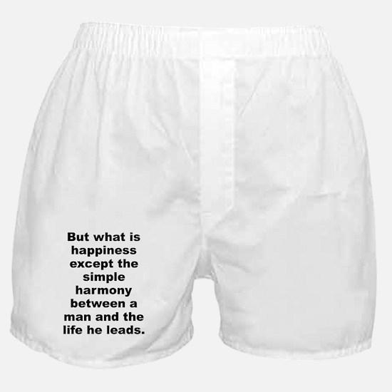Camus quotation Boxer Shorts