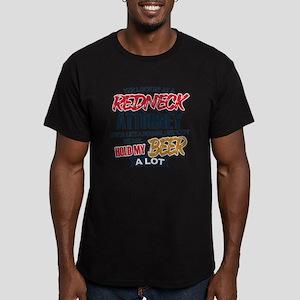 Redneck Attorney Men's Fitted T-Shirt (dark)