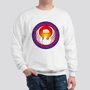 Wado Ryu Dove and Fist Sweatshirt