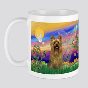 Guardian Angel Silky Terrier Mug