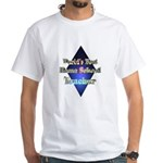 White Home School Teacher T-Shirt