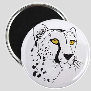 Silhouette Cheetah Magnet