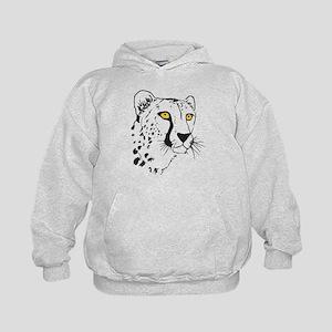 Silhouette Cheetah Kids Hoodie