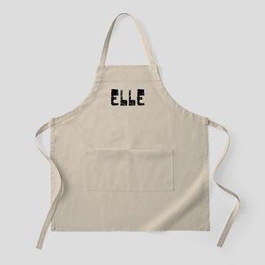 Elle Faded (Black) BBQ Apron