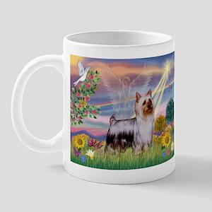 Cloud Angel / Silky Terrier Mug