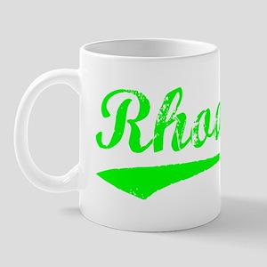 Vintage Rhodes (Green) Mug