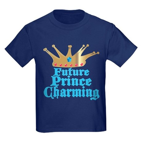 Future Prince Charming Kids Dark T-Shirt