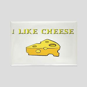 I Like Cheese! Rectangle Magnet