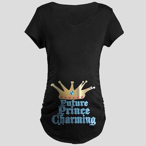 Future Prince Charming Maternity Dark T-Shirt