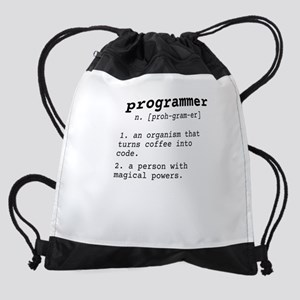 1126bf9141 Programming Drawstring Bags - CafePress