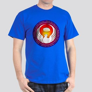 Vibrant Colors Wado Ryu Dove and Fist T-Shirt