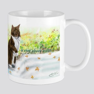 Wonderful sharp skogkatt Mug