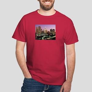 Los Angeles Night Lights Dark T-Shirt