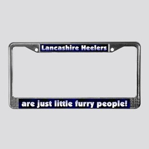 Furry People Lancashire Heeler License Plate Frame